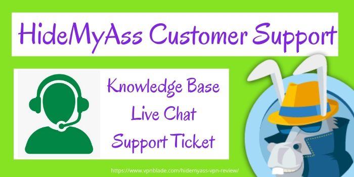 HideMyAss Review- Customer Support