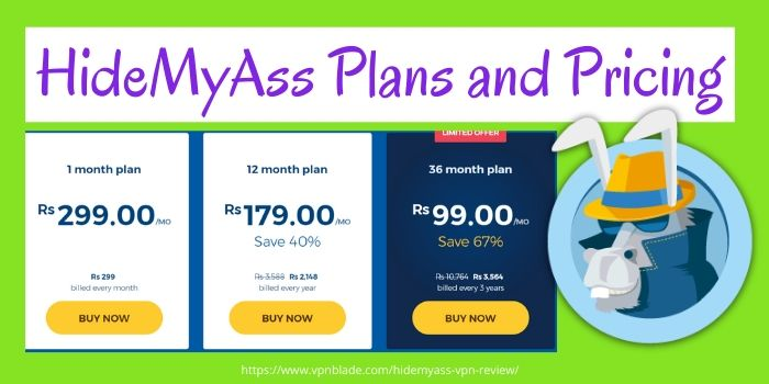 HideMyAss VPN Review- Plans & Pricing
