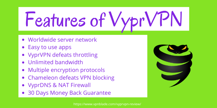 VyprVPN Review - Features