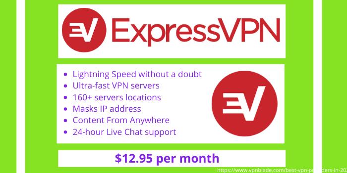 Best VPN Providers - ExpressVPN