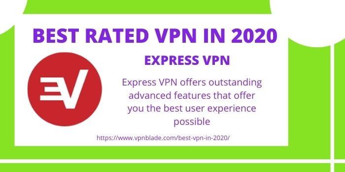 BEST RATED VPN- ExpressVPN