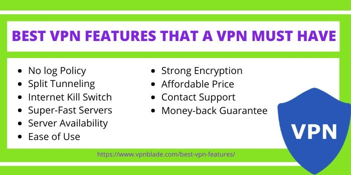 BEST VPN FEATURES YOU SHOULD LOOK FOR