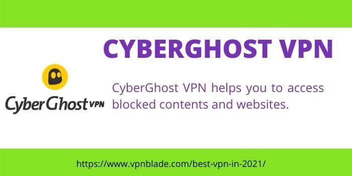 CYBERGHOST VPN 1