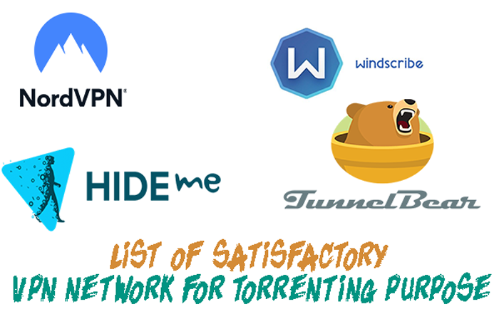 VPN Network for torrenting purpose