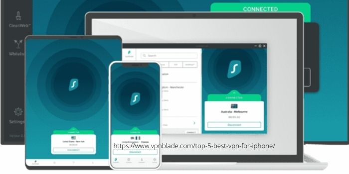 BEST VPN FOR MAC OR iOS- Surfshark