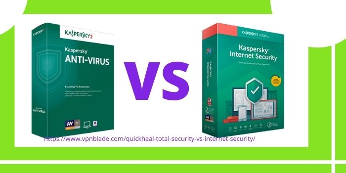 Kaspersky Antivirus VS Internet Security