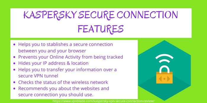 Kaspersky Secure Connection VPN Review - Features
