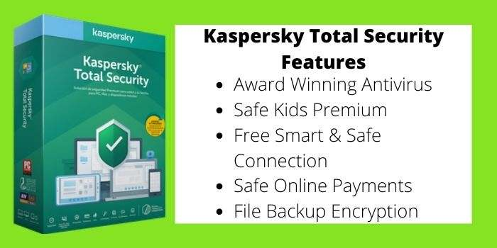 Kasprsky Total Security Features