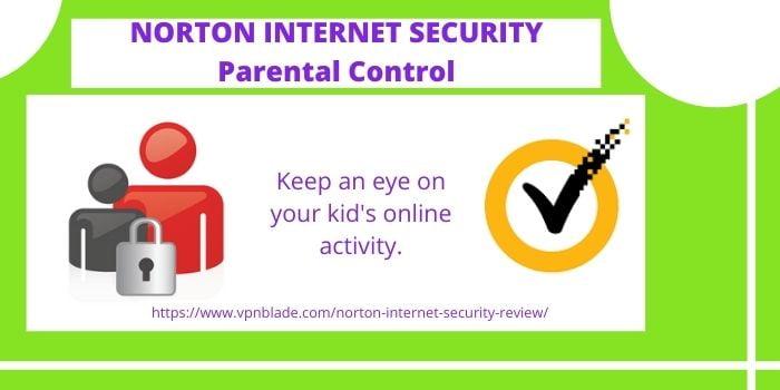 NORTON INTERNET SECURITY REVIEW- PARENTAL CONTROL