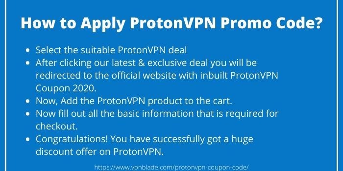 ProtonVPN Coupon