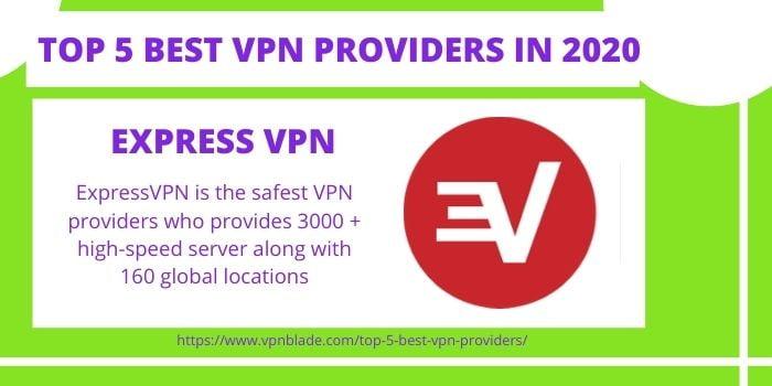 TOP 5 BEST VPN PROVIDERS- ExpressVPN