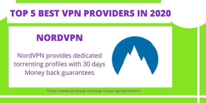 TOP 5 BEST VPN PROVIDERS - NordVPN