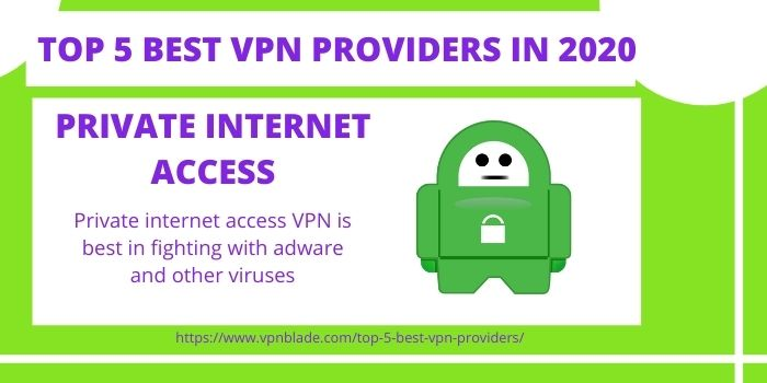 TOP 5 BEST VPN PROVIDERS - Private Internet Access