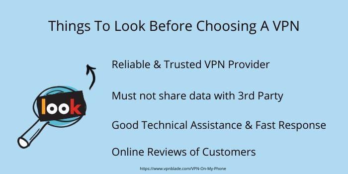 things to look before choosing a vpn