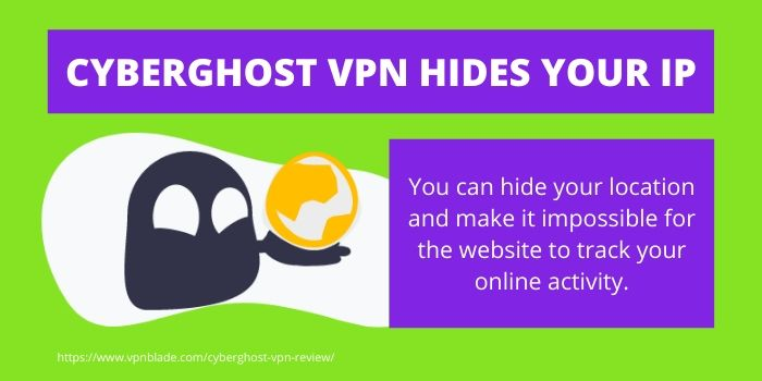 CYBERGHOST VPN HIDES YOUR IP