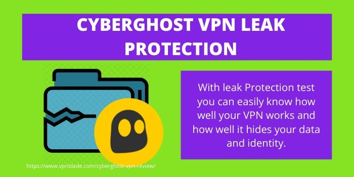 CyberGhost VPN Leak Protection
