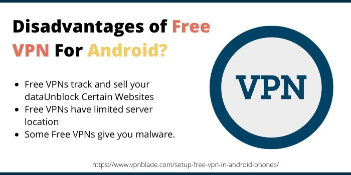 Disadvantages of Free VPN For Android