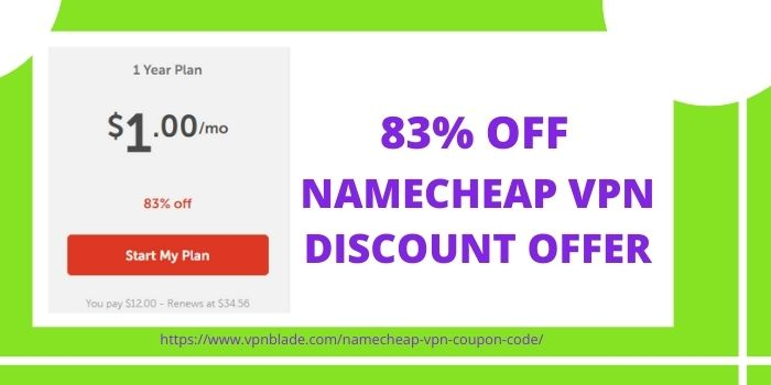 Namecheap VPN Coupon
