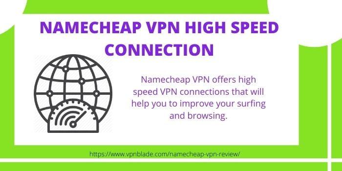 Namecheap VPN High Speed Connection