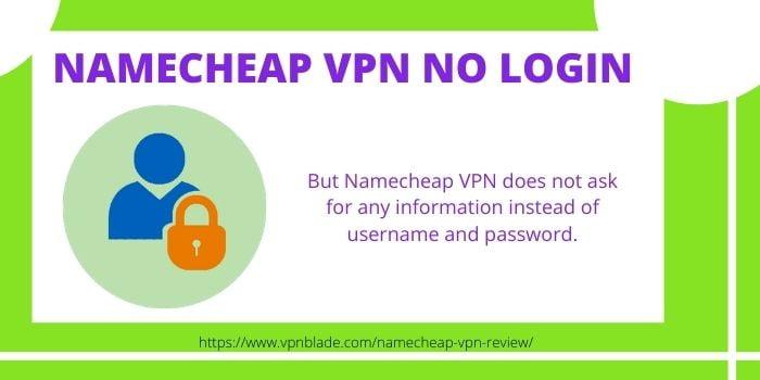 Namecheap VPN No Login