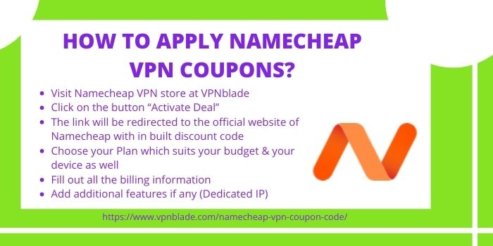 Namecheap VPN Promo Code