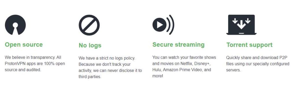 ProtonVPN Review- Benefits