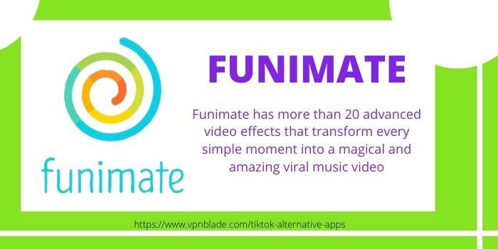 TIKTOK ALTERNATIVE APPS- Funimate