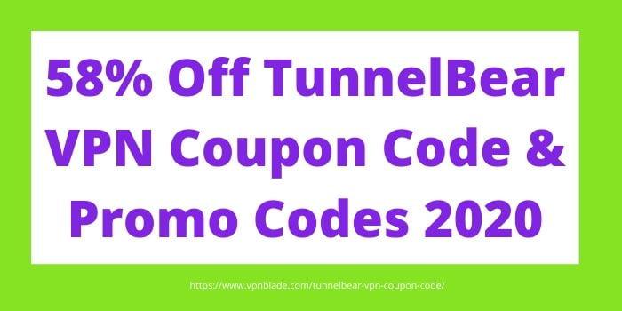 TunnelBear VPN Coupon Code