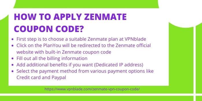 Zenmate Promo Code