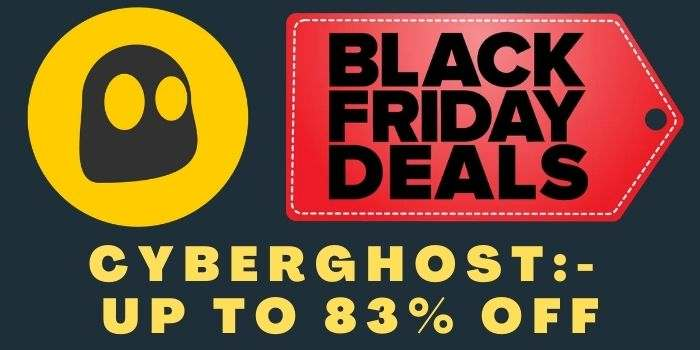 Cyberghost Black Friday Deals