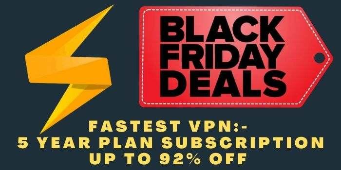 FastestVpN Black Friday