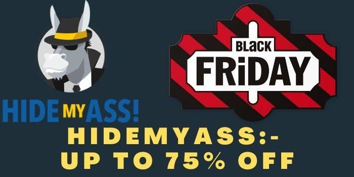 HideMyAss Black Friday Deals