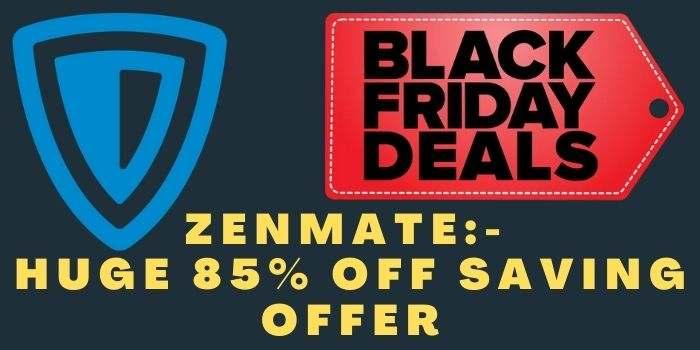 Zenmate Black Friday Deal