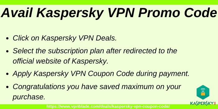 Kaspersky VPN Promo Code
