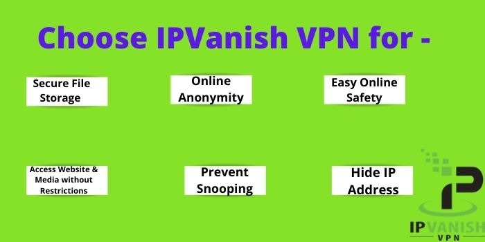 Choose IPVanish VPN