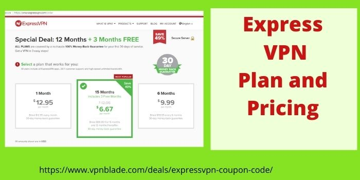 Express VPN Plan and Pricing