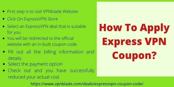 How to Apply Express VPN Coupon Code