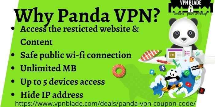 Panda VPN Benefits