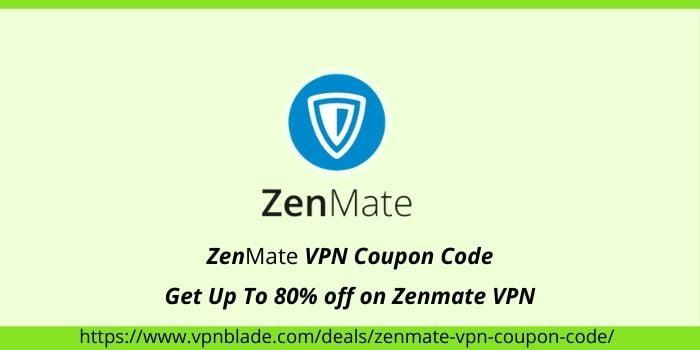 Zenmate VPN COUPON CODE
