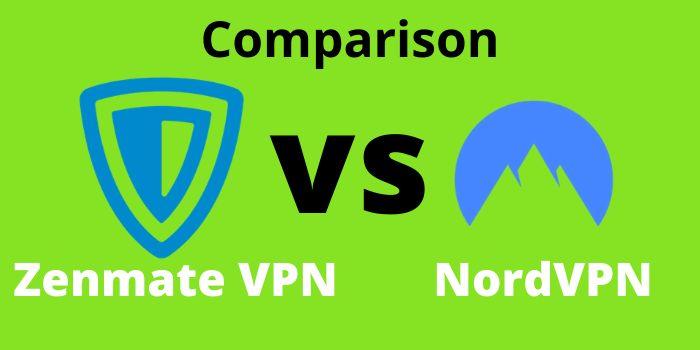 Zenmate VPN vs NordVPN Comparison