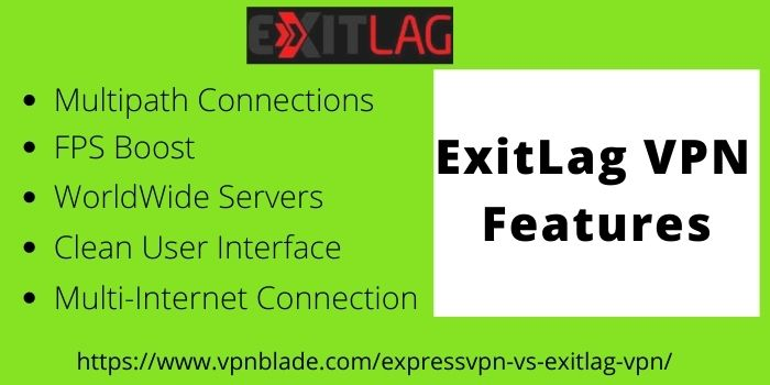 ExitLag VPN Features