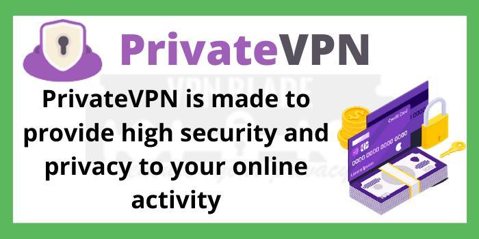 About PrivateVPN Company