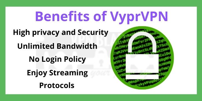 Benefits of VyprVPN