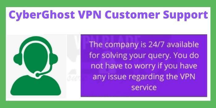 CyberGhost VPN Customer Support