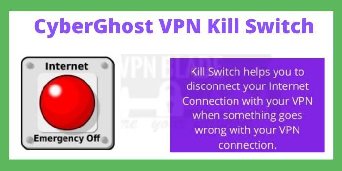 CyberGhost VPN Kill Switch