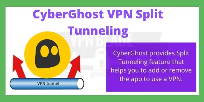 CyberGhost VPN Split Tunneling