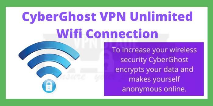 CyberGhost VPN Unlimited Wifi Connection