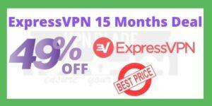 ExpressVPN 15 Months DeaL