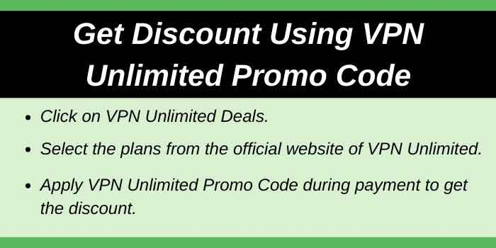 Get Discount with VPN Unlimited