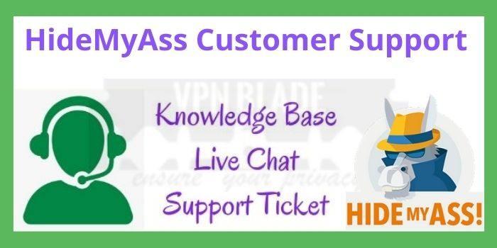 HideMyAss Customer Support